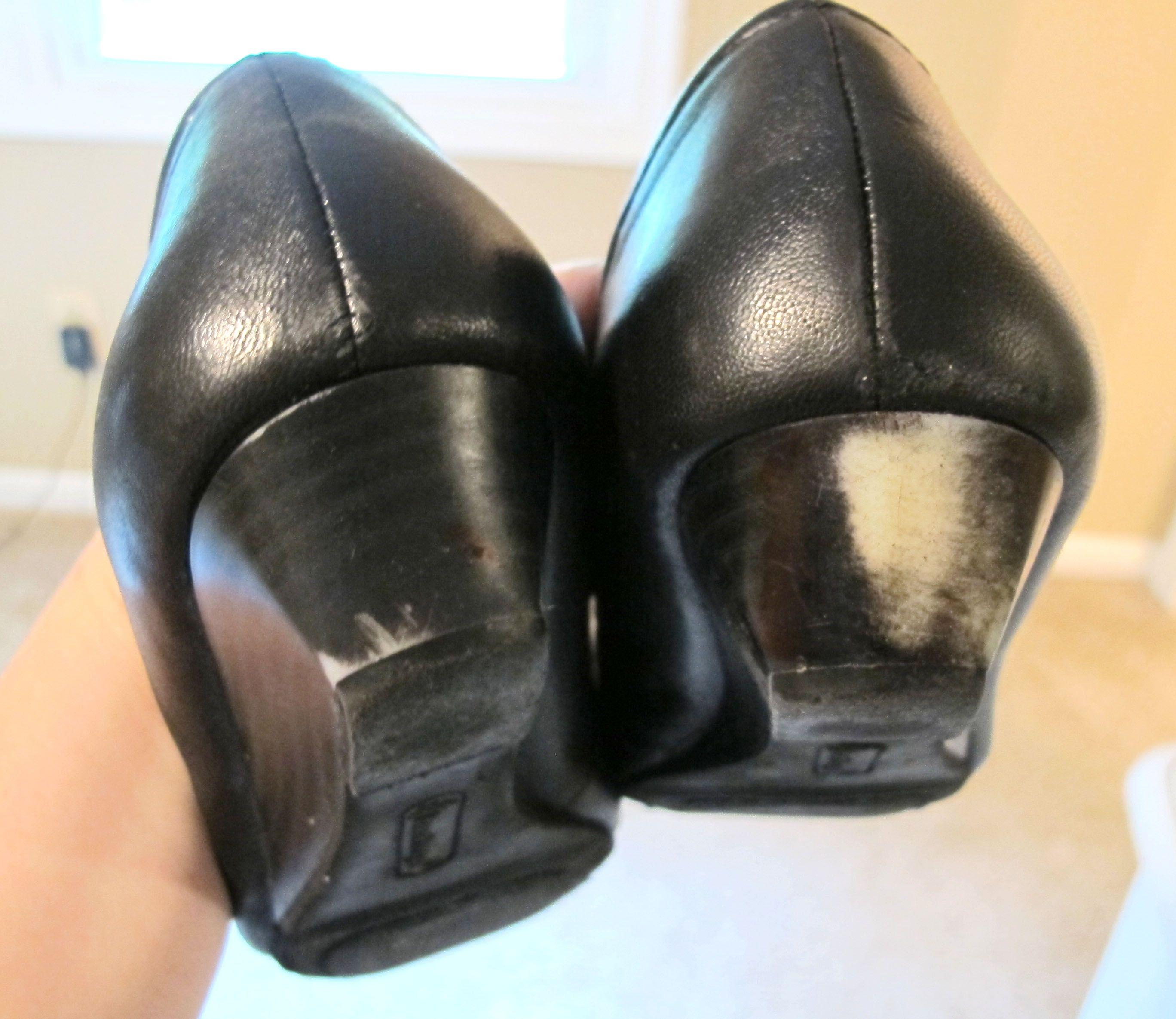 Scuffed Shoes Shoe Repair Diy Leather Shoe Repair Shoe Heel Repair