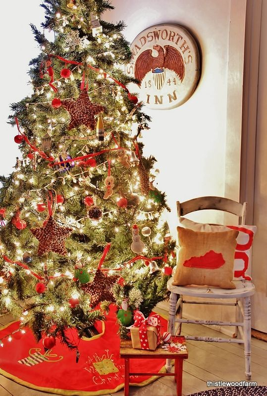 Confidence Is A Good Thing Thistlewood Farm Christmas Decorations Rustic Christmas Decorations Christmas Tree