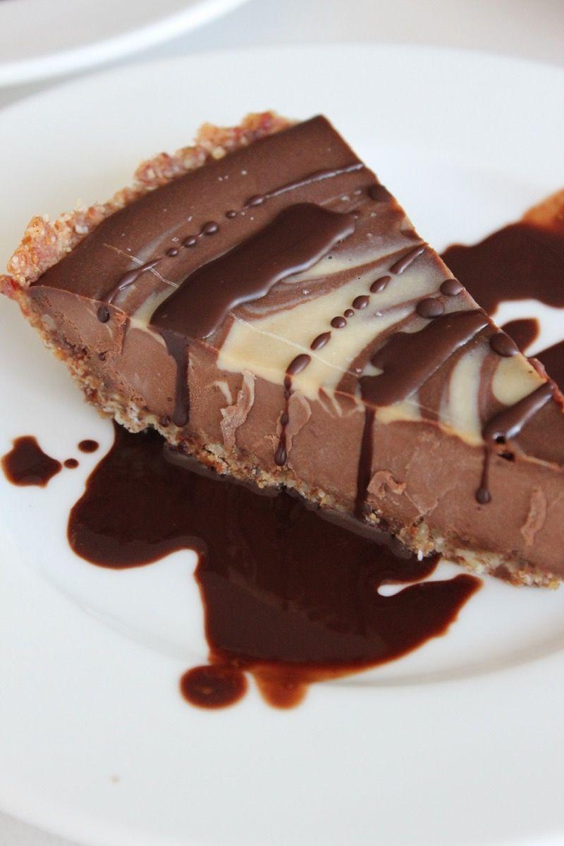 Chocolate Cream Pie (Vegan and Paleo) Recipe Raw