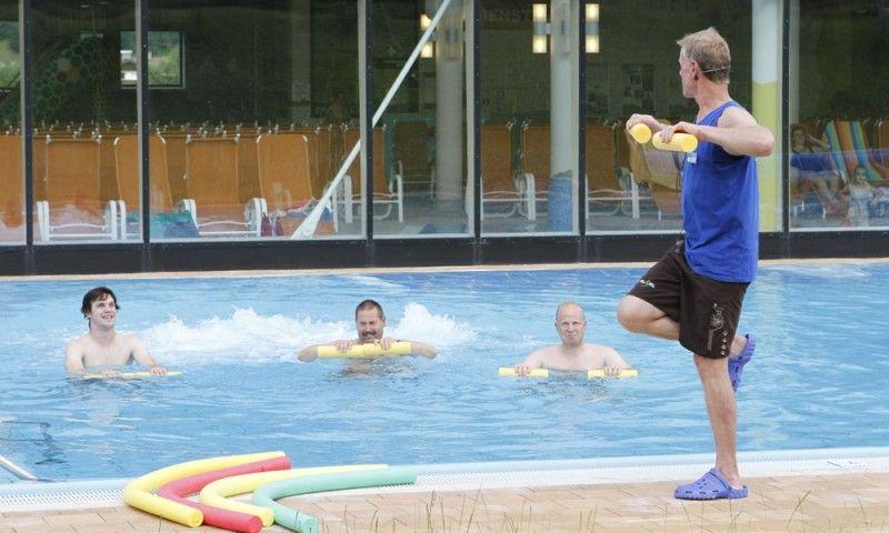Wassergymnastik - unseren Gästen wird täglich ein attraktives Programm an Wassergymnastik angeboten. Kostenfrei für alle Gäste!