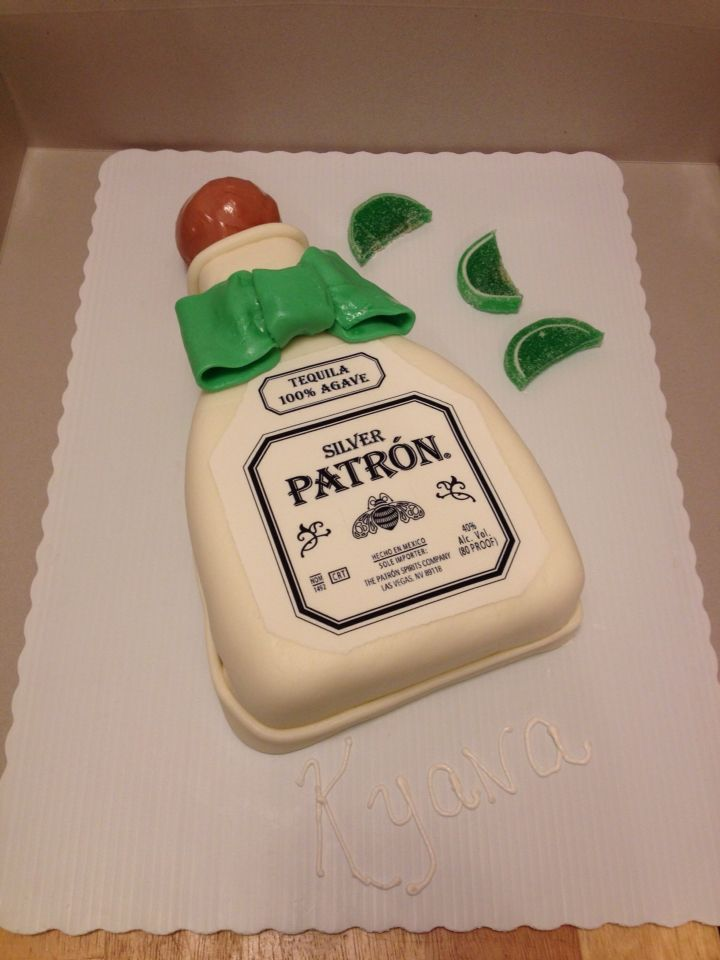 Swell Patron 2D Birthday Cake With Images Fondant Cakes Ketchup Personalised Birthday Cards Veneteletsinfo