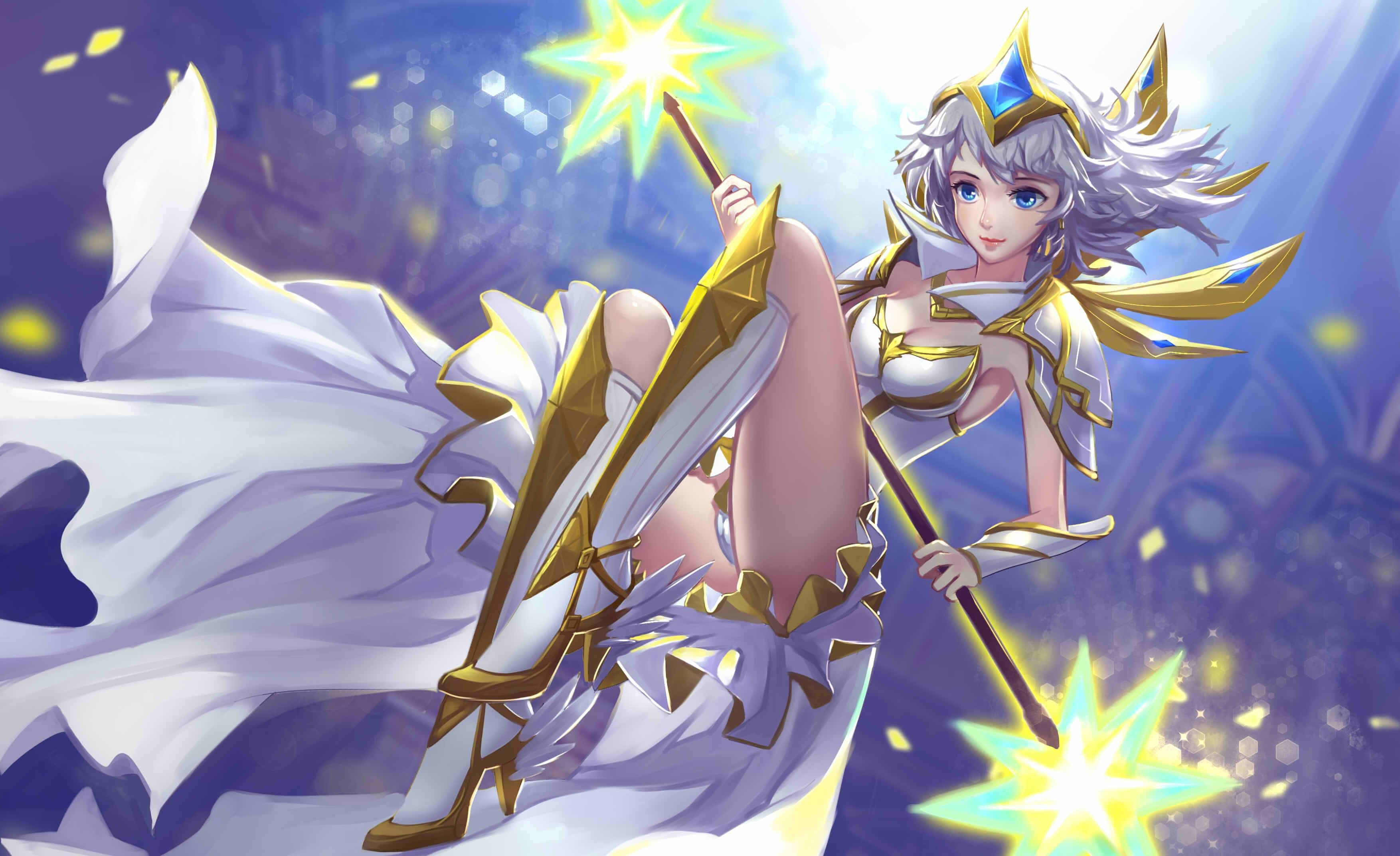 Light Elemental Lux Garotas