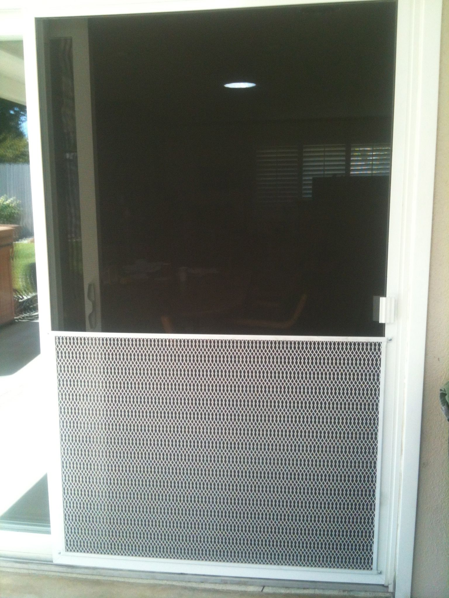 Door Screen Guards For Pets Sliding Screen Doors Patio Screen