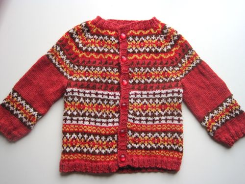 baby's first fair isle sweater | Knitting | Pinterest | Fair isles ...