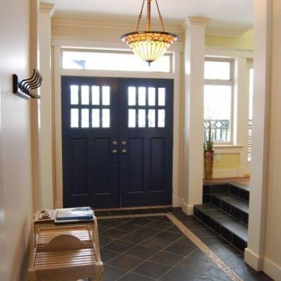 Double Front Doors Entryway Tile Front Entry Doors Double