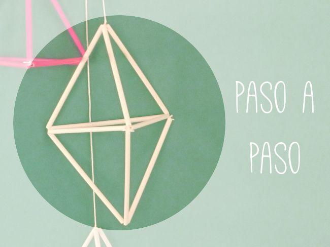 DIY Formas geométricas: Papeles Pequeños