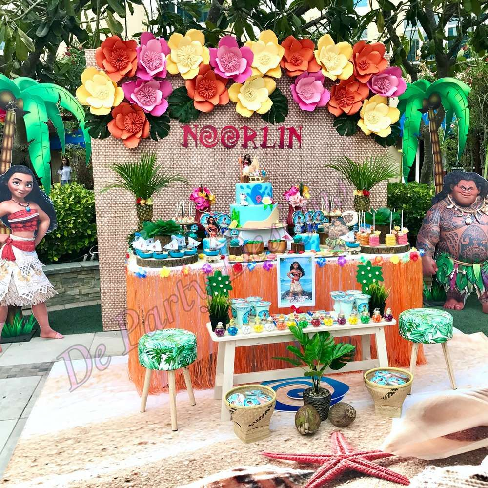 Noorlins Awesome Moana Theme Party