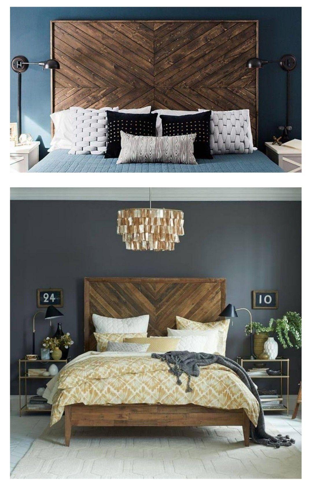 Wooden headboard Rattan headboard, Home decor, Decor