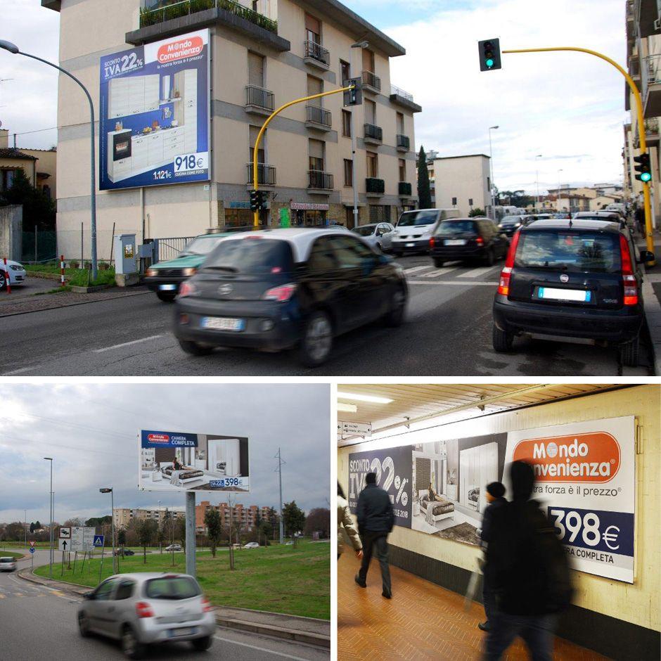 Mondo Convenienza Firenze Toscana Italia