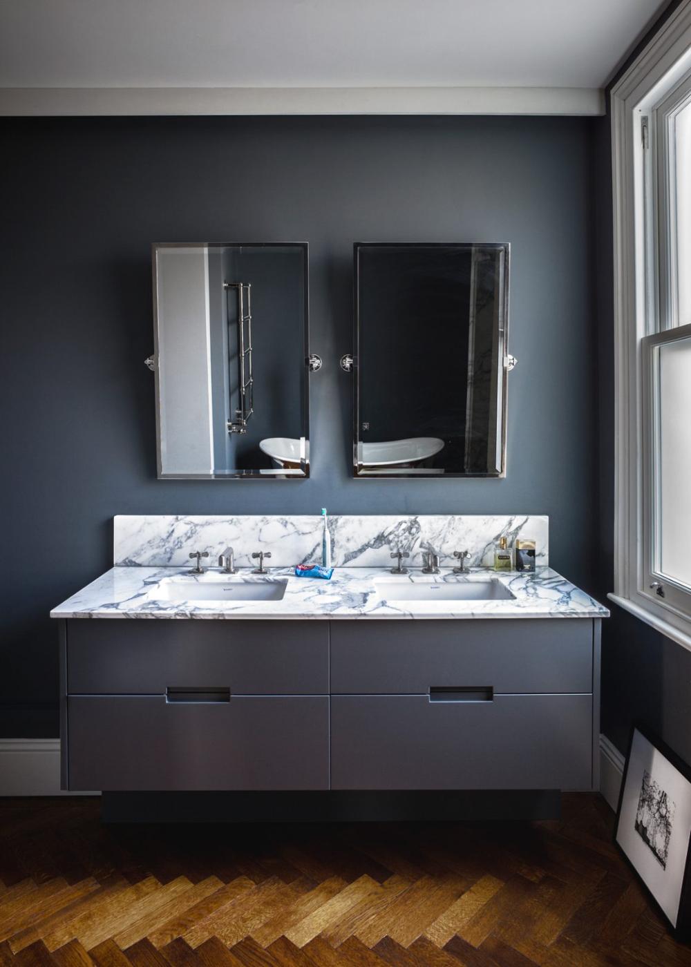 His and hers double bathroom basin ideas Bathroom sink