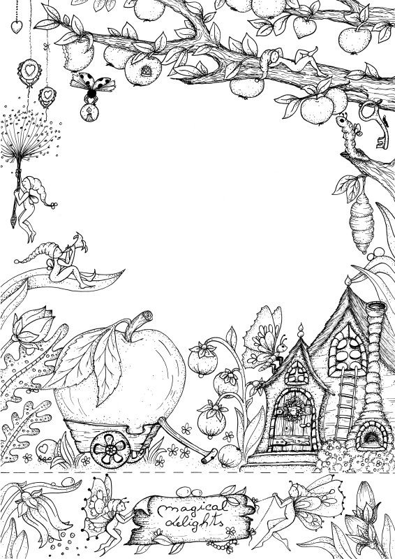 Klara Markova Free Coloring Book Art Cool Coloring Pages Animal Coloring Pages