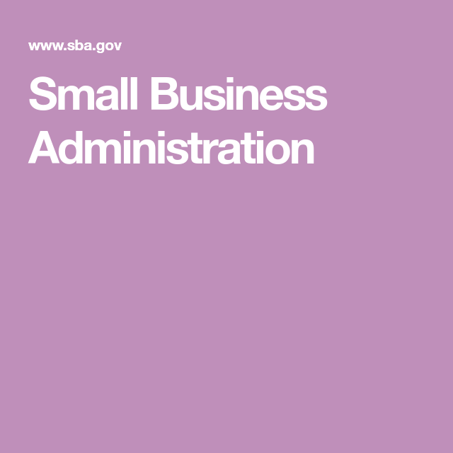 Small Business Administration Getting Started  Small Business