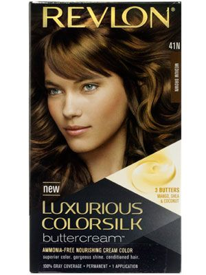 This Revlon Luxurious ColorSilk Buttercream permanent athome hair