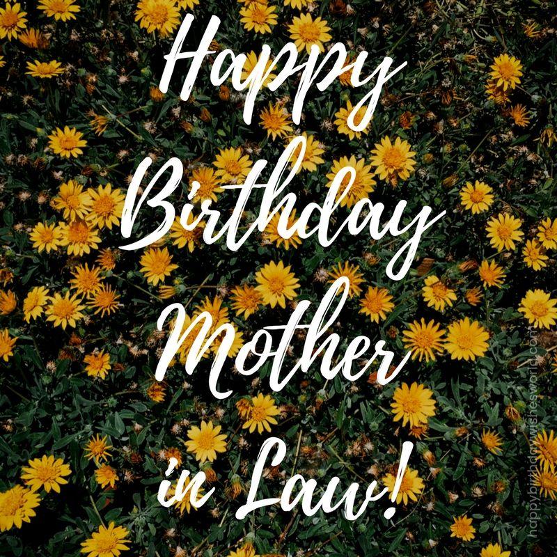 Happy birthday motherinlaw! Mother in law birthday