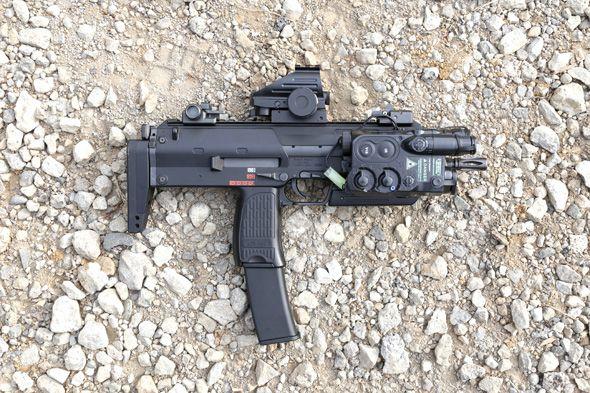 TOKYO MARUI MP7A1   Gun   Guns, Assault rifle, Weapons