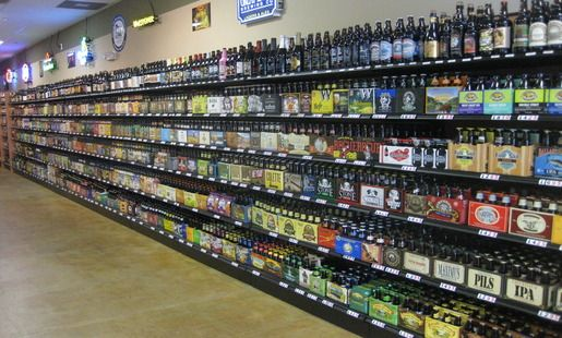 Liquor Store Shelving And Equipment