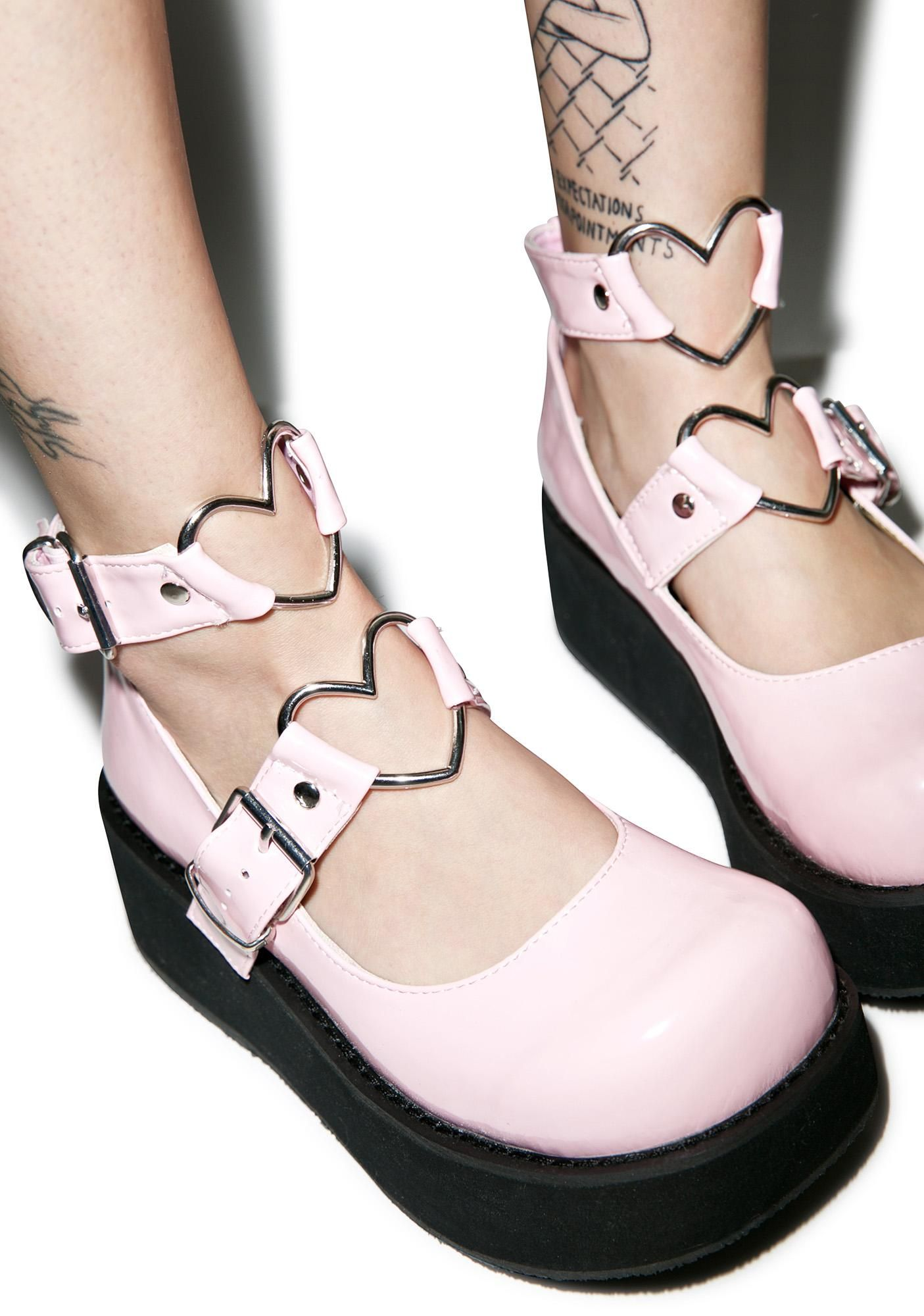 Modern Stacie Doll Off Light Pink Platform Mary Jane Style Shoes NEW