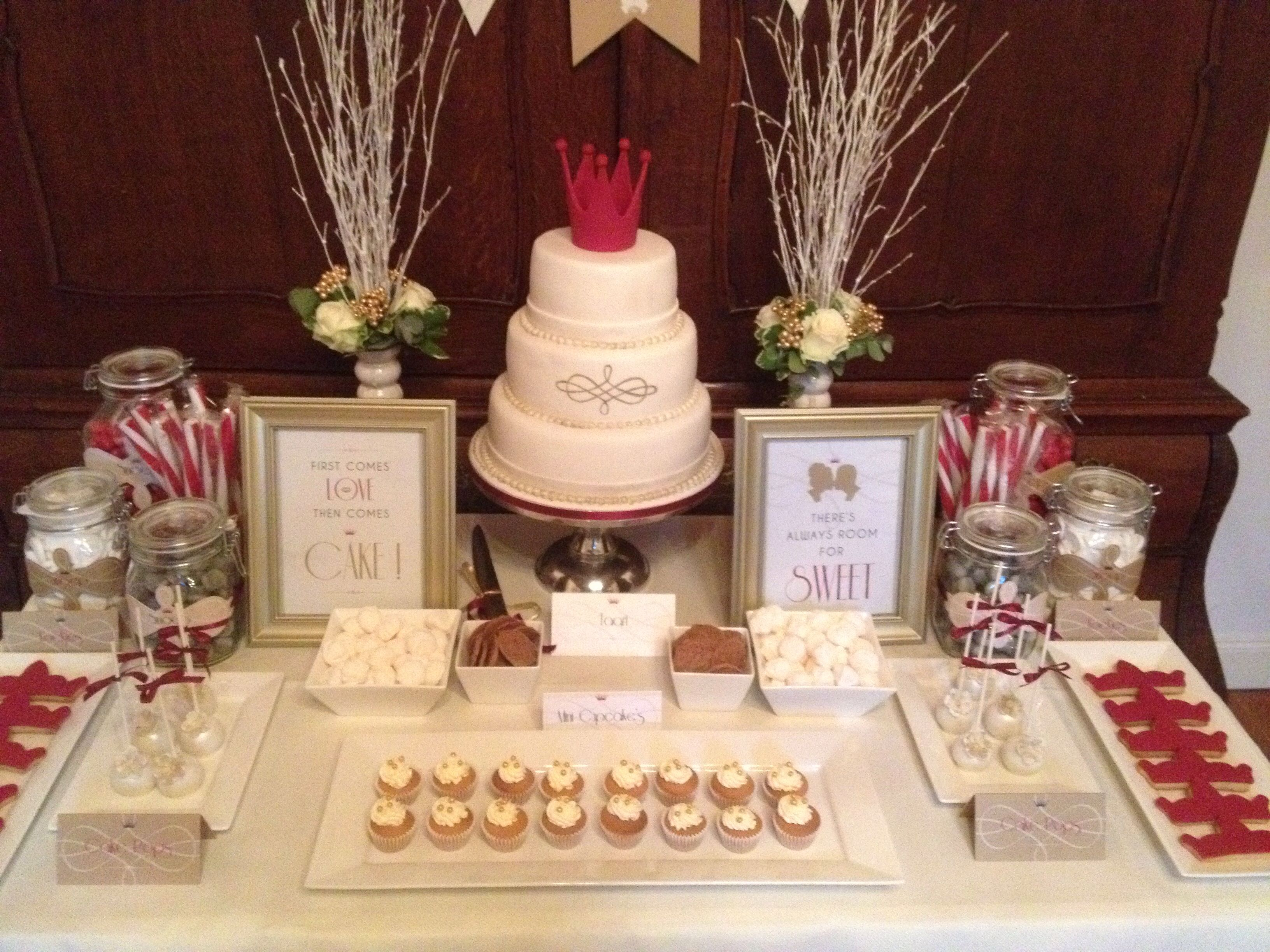 King & Queen candy sweet table   Cake's we make www ...