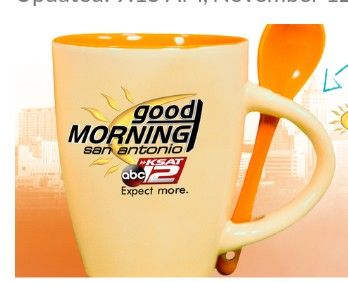 Love waking up the Ksat 12 news every morning but I still can't win