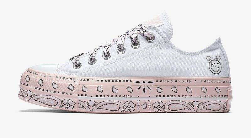 53ff45d8ae312a Converse x Miley Cyrus Chuck Taylor All Star Lift Low Top  75 ...