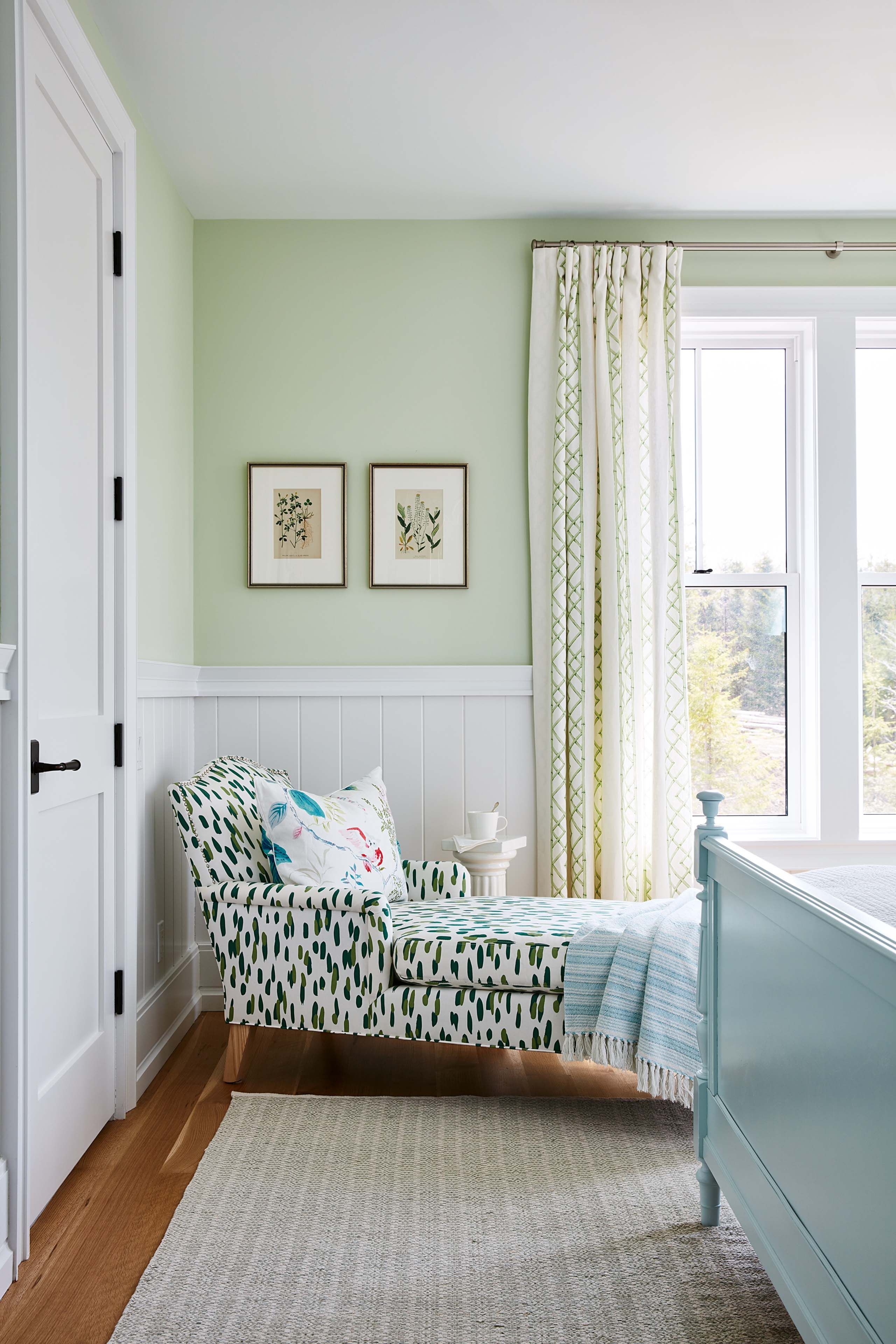 Sarah Richardson S Off The Grid Family Home Light Green Bedrooms