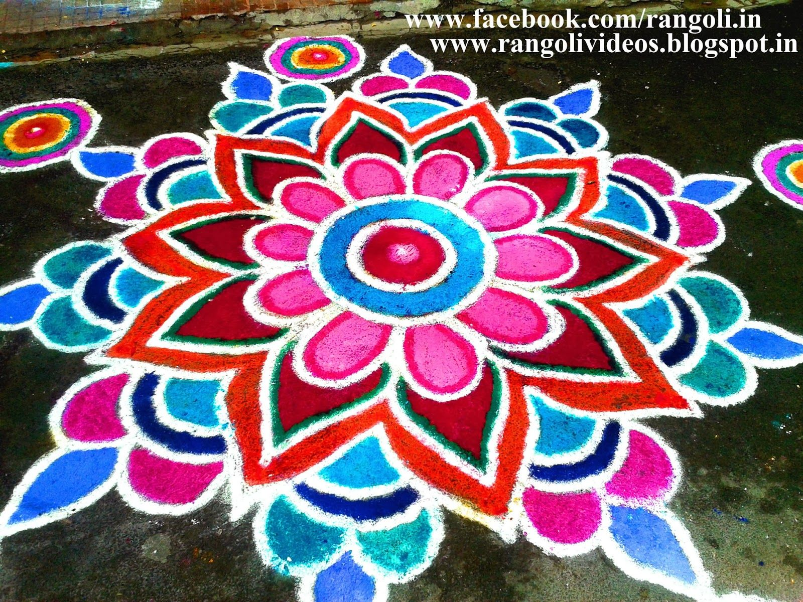 Diwali Rangoli , Kolam , Designs Images December 2013