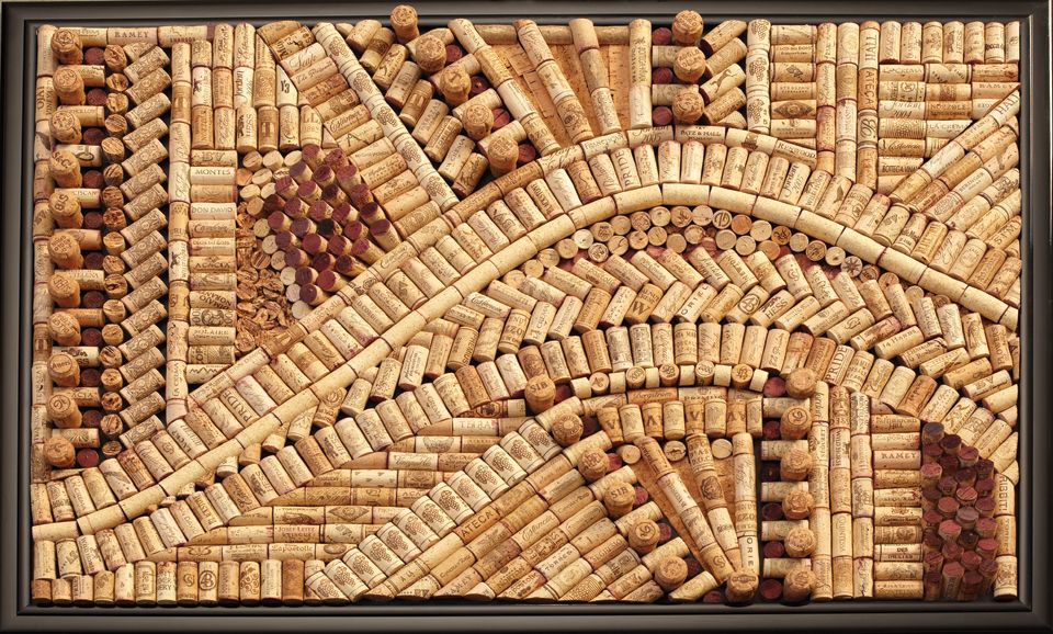 Wine Cork Art Amazing More