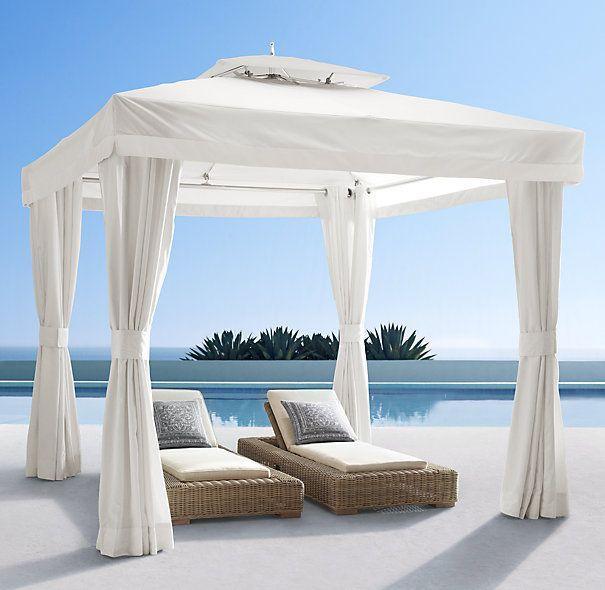 Restoration Hardware   Tuuci® Atlantis Outdoor Pavilion