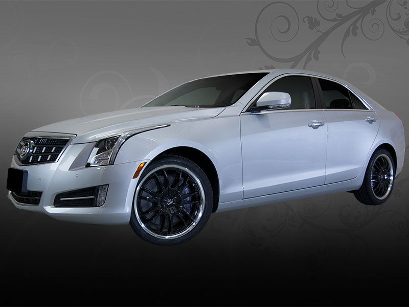 cadillac ats with custom helo black wheels by vogue cadillac pimpin 39 inspiration ideas. Black Bedroom Furniture Sets. Home Design Ideas