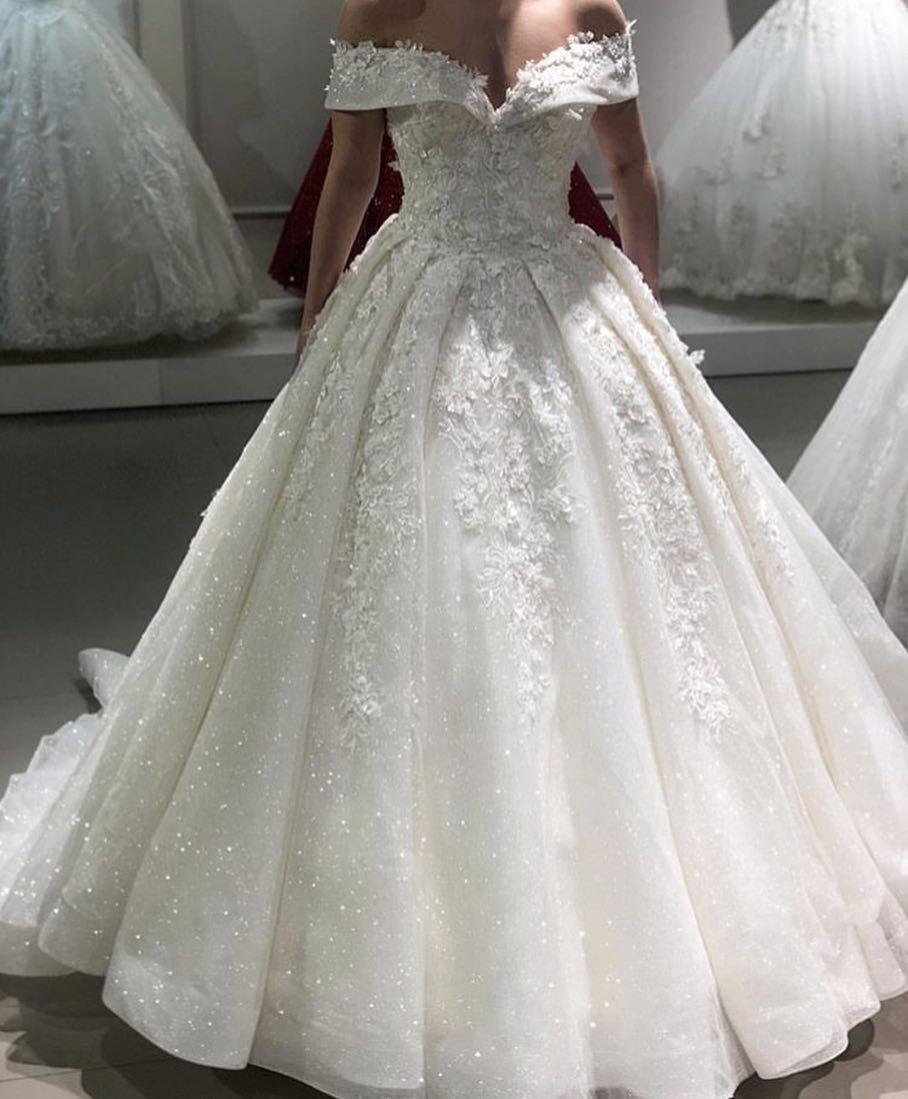 20+ Off the shoulder wedding dress ideas info