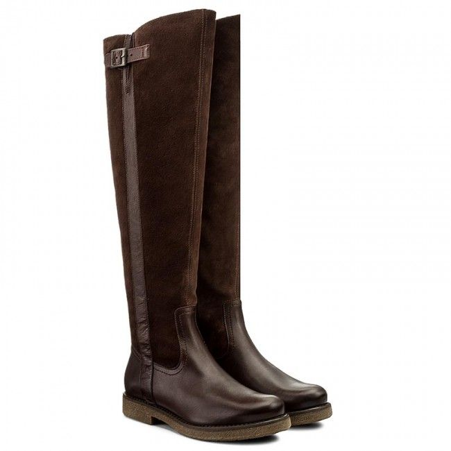 Muszkieterki Lasocki Rika 06 Brazowy Boots Shoes Riding Boots