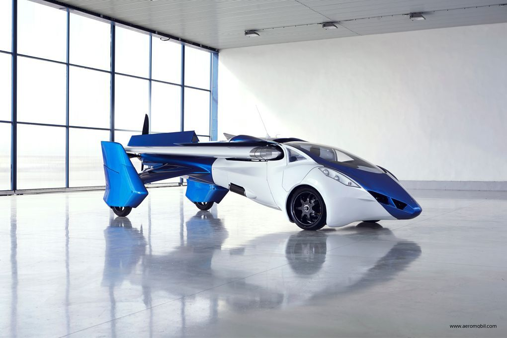 The AeroMobil 3.0 flying car.