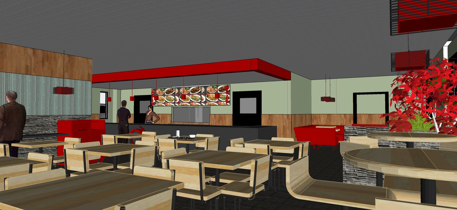 Fast food restaurant decor ideas - Explore These Ideas And More
