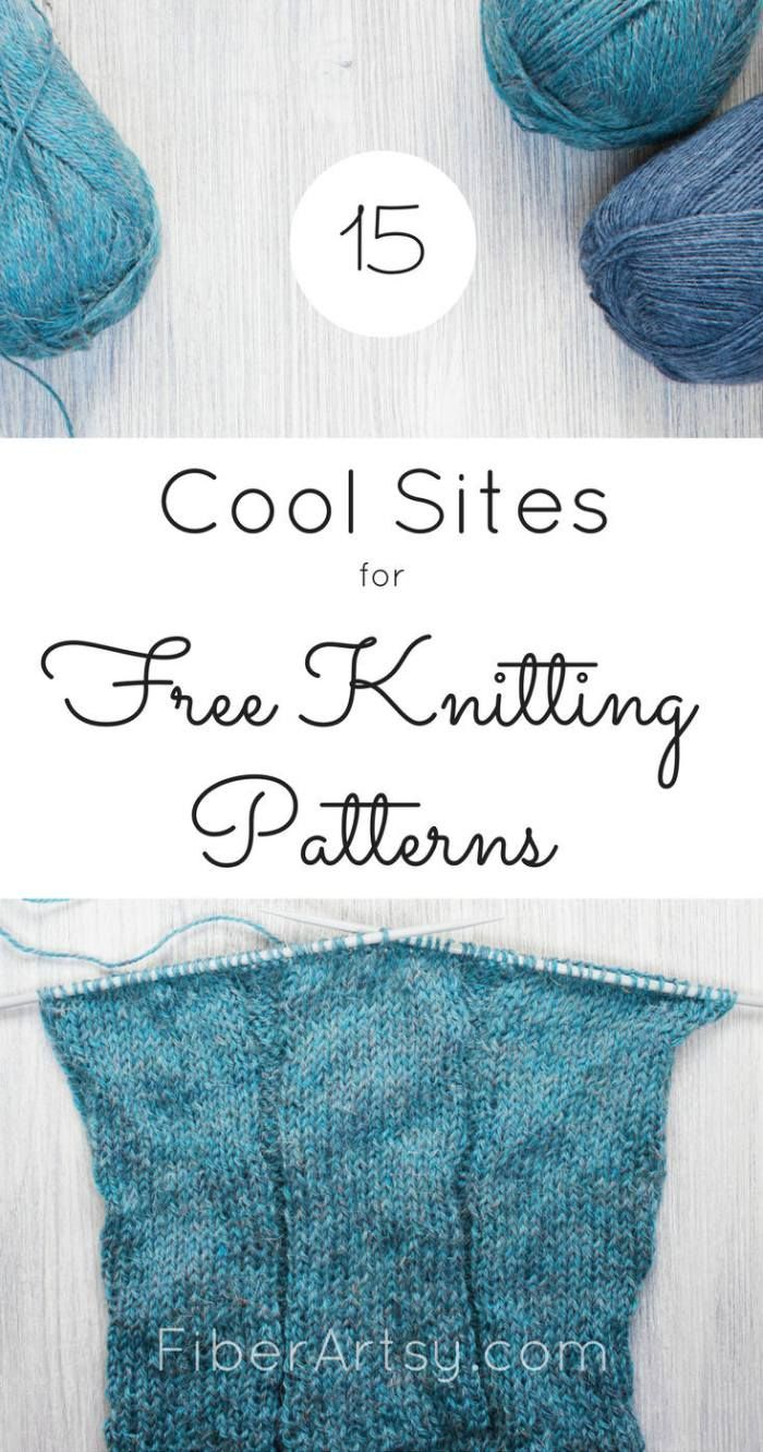 15 Sites for Free Knitting Patterns | Lugares para visitar, Lugares ...