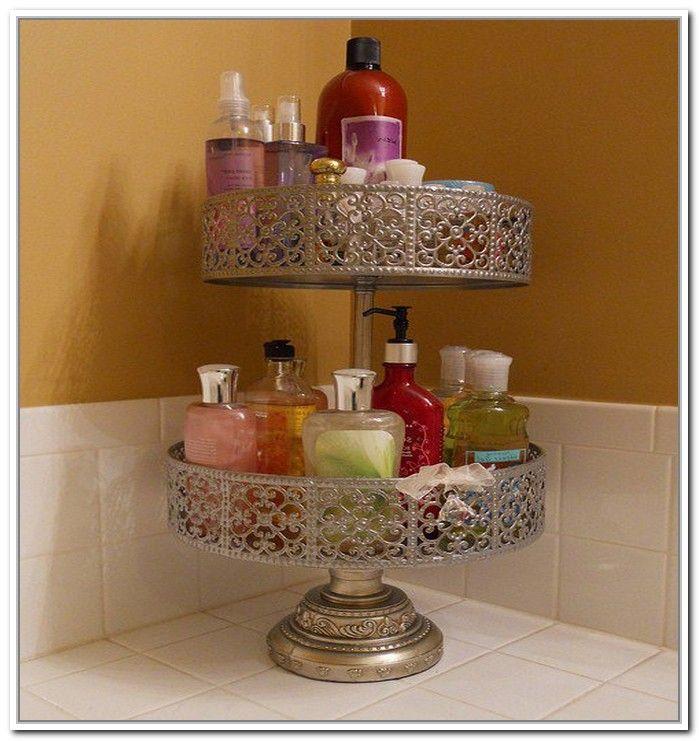 Captivating Pretty On Counter Bathroom Storage