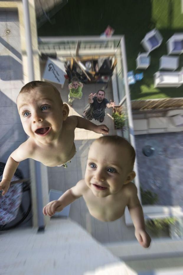 Самая смешная фотосессия близнецов от папы-фотографа ...