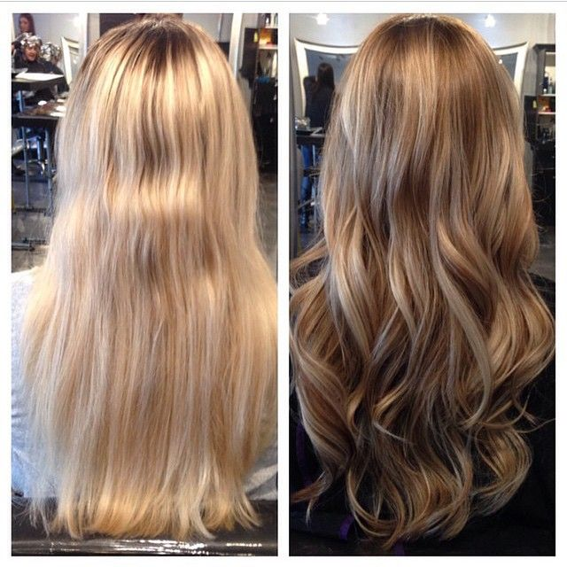 Love this before and after using ChromaSilk Contour ...