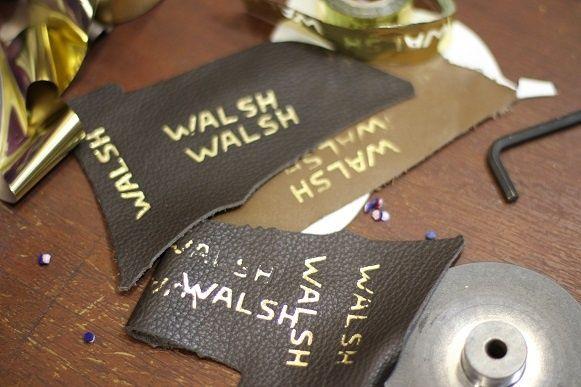 Walsh Footwear Leather Tabs