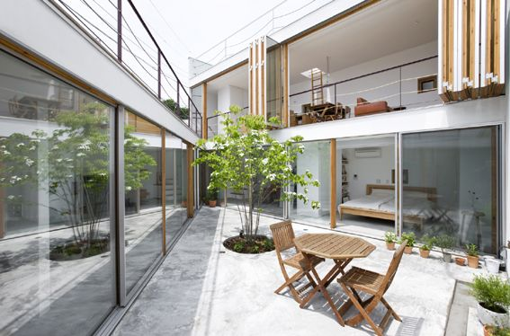 Garden House By Takeshi Hosaka Architects 家のデザイン ハウス