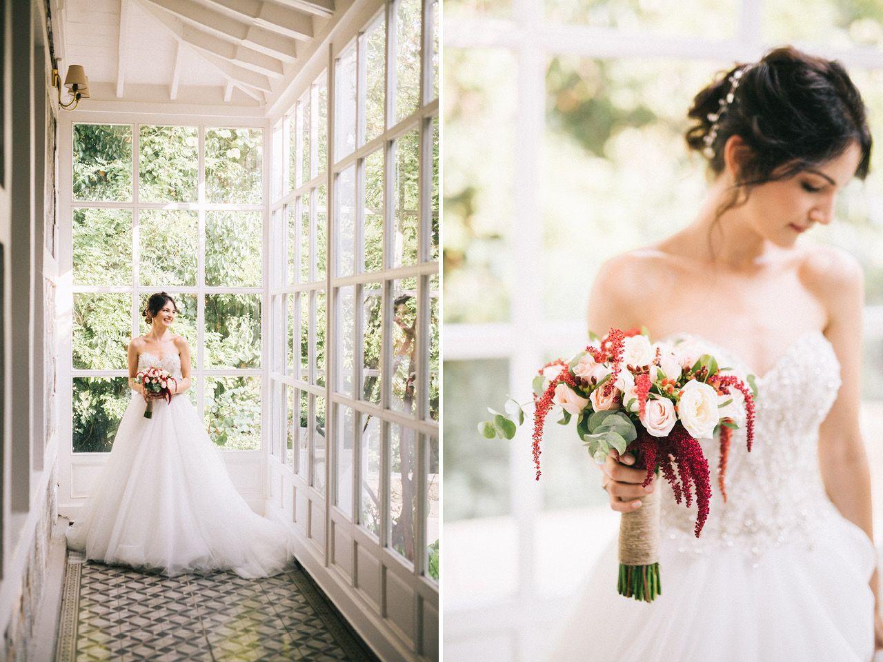 Elite wedding dresses  Bride Details  Kennedy Lodge Wedding With Beautiful Bosphorus View