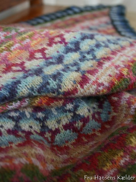 stola Mongolia, Christel Seyfarth | Knitting ღ༺☆* Fair Isle ...