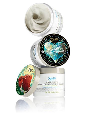Stars like #RosarioDawson and #FlorenceWelch designed packaging for #Kiehl's Deep Pore Cleansing Masque, its latest eco-minded beauty product. http://news.instyle.com/2012/03/29/kiehls-recycle-and-be-rewarded/
