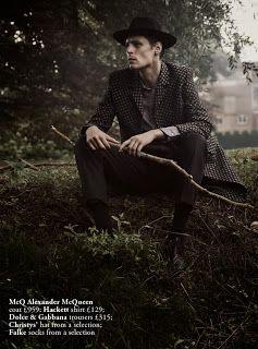 Major Models Paris: ADRIAN WLODARSKI for Harrods Magazine by Tomo Brejc