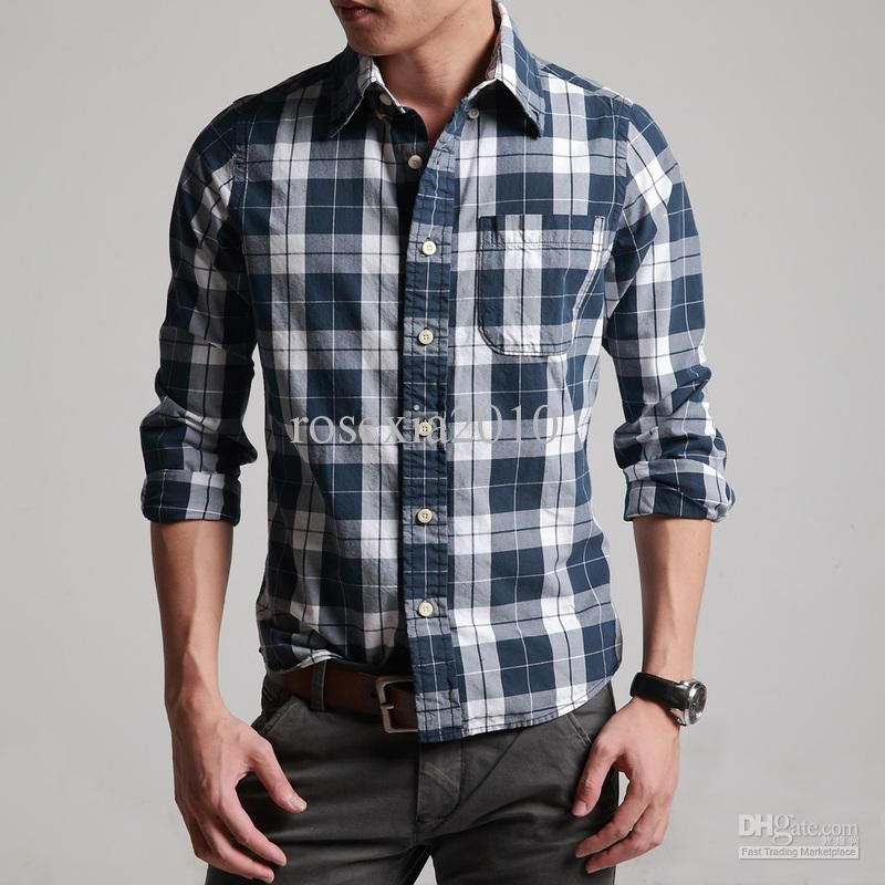 men casual plaid shirts - Google Search   Pilot: Ivan   Pinterest ...