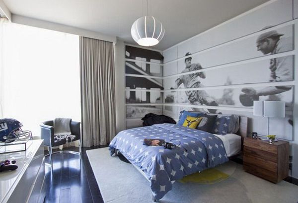 DKOR Interiors   Boys Bedroom Design   Love The Graphics!