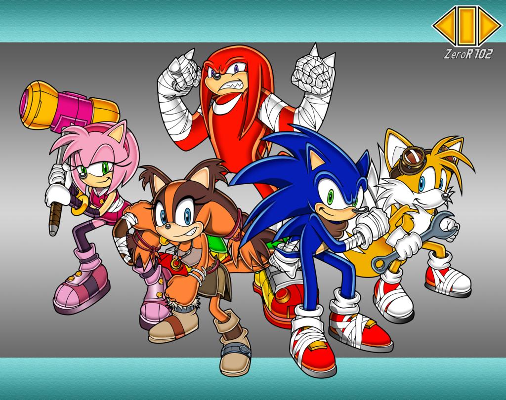 Sonic Boom By Zeror102 On Deviantart Sonic Boom Sonic Sonic Art