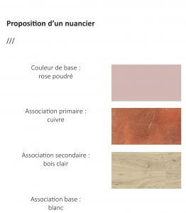 a&s proposition d'un nuancier