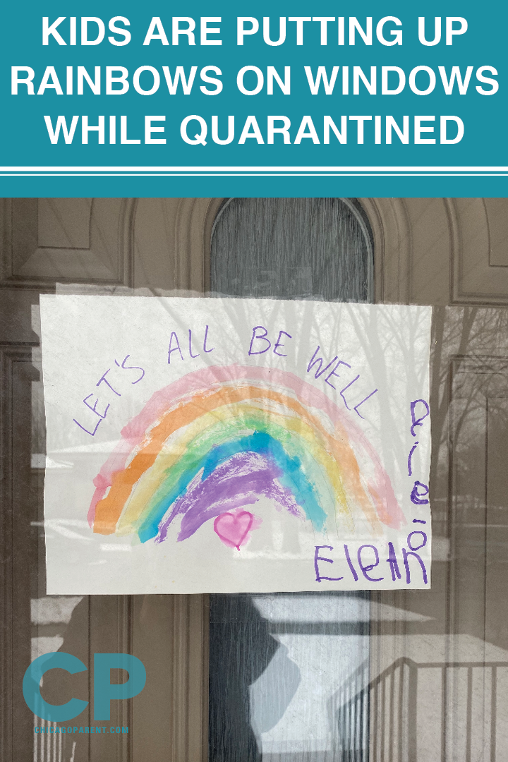 Kids Are Putting Up Rainbows On Windows While Quarantined