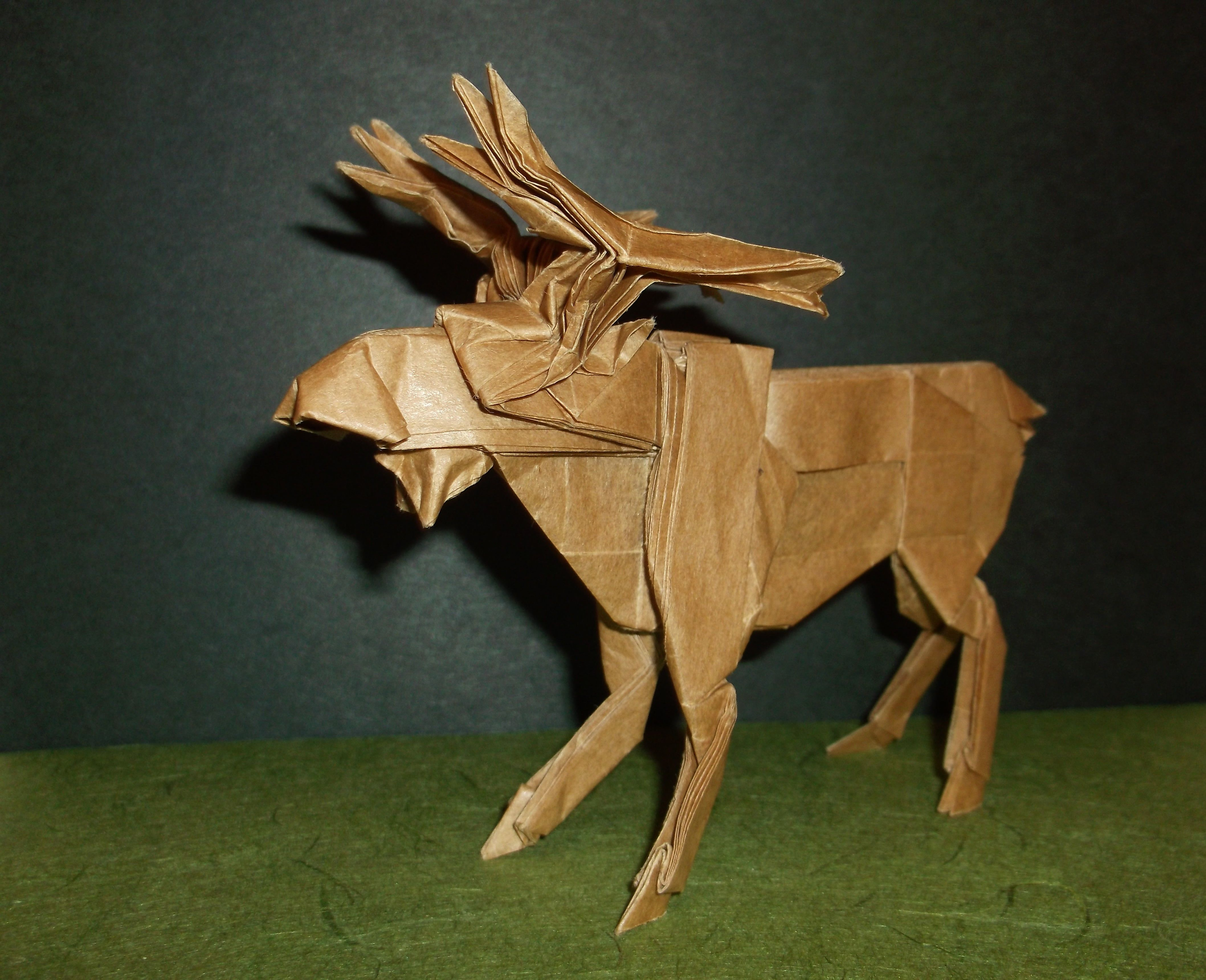 Pin By Dafydd Lee Origami On Pinterest Moose Animals Dachshund Paper Folding Diagram Mooseorigamimousseelk