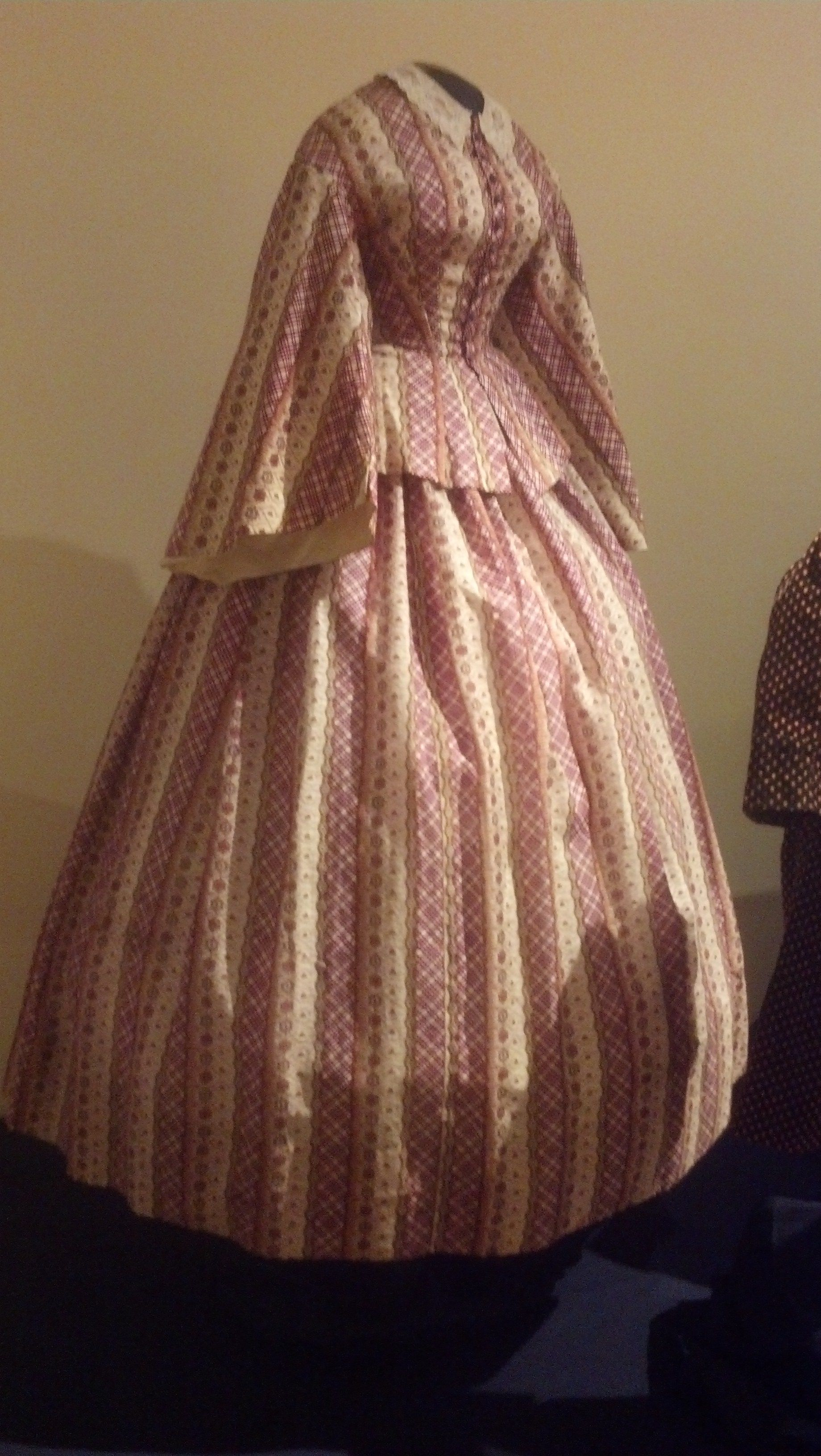 Beautiful Civil War gown from the Susan Greene Historic Clothing ...